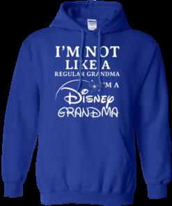 image 643 247x296px I'm Not Like A Regular Grandma I'm A Disney Grandma T Shirts, Hoodies, Sweater