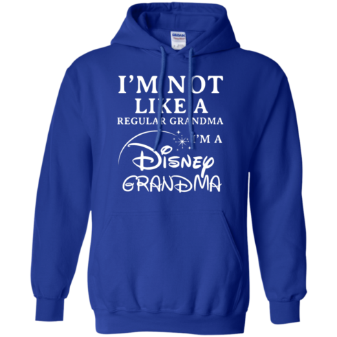 image 643 490x490px I'm Not Like A Regular Grandma I'm A Disney Grandma T Shirts, Hoodies, Sweater