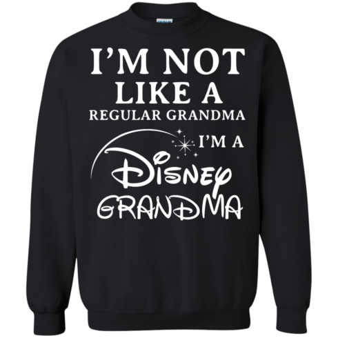 image 644 490x490px I'm Not Like A Regular Grandma I'm A Disney Grandma T Shirts, Hoodies, Sweater