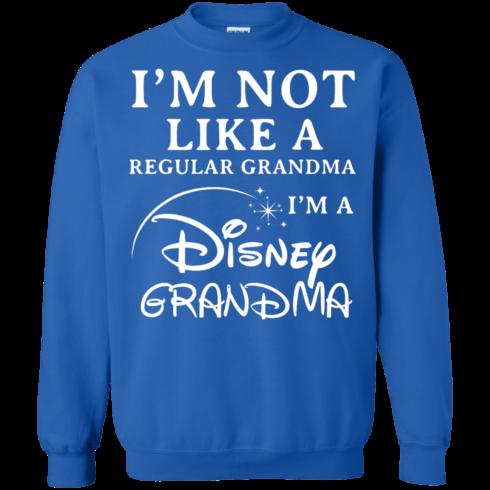 image 645 490x490px I'm Not Like A Regular Grandma I'm A Disney Grandma T Shirts, Hoodies, Sweater