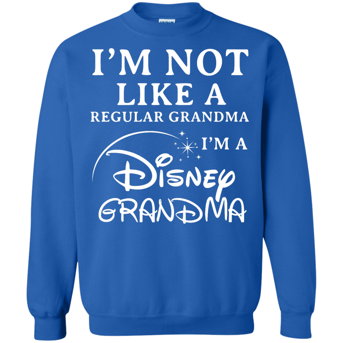 image 645px I'm Not Like A Regular Grandma I'm A Disney Grandma T Shirts, Hoodies, Sweater