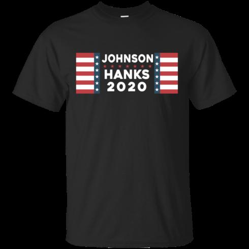 image 650 490x490px Johnson Hanks for president 2020 T Shirts, Hoodies, Tank Top