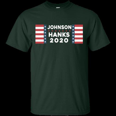 image 651 490x490px Johnson Hanks for president 2020 T Shirts, Hoodies, Tank Top