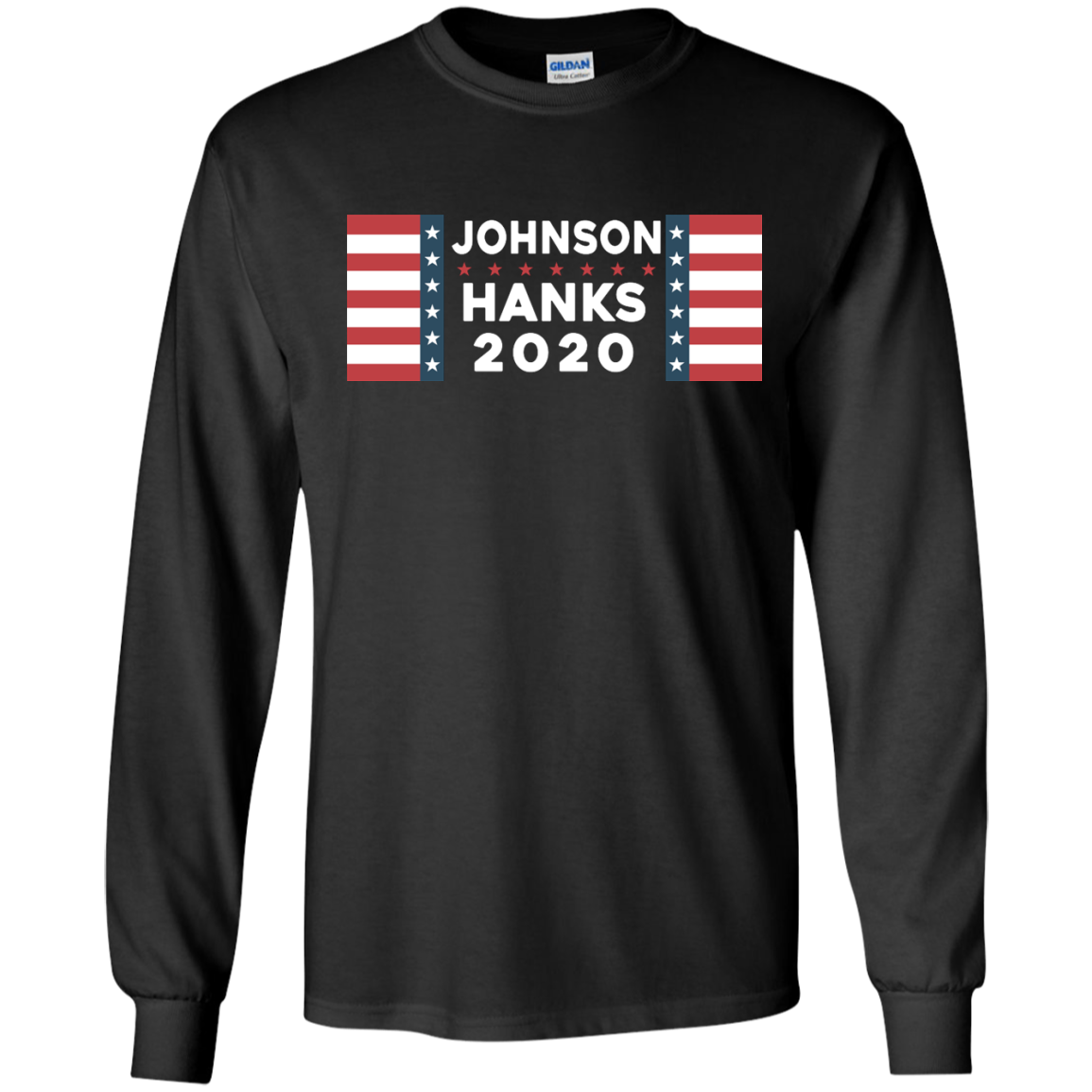 image 653px Johnson Hanks for president 2020 T Shirts, Hoodies, Tank Top