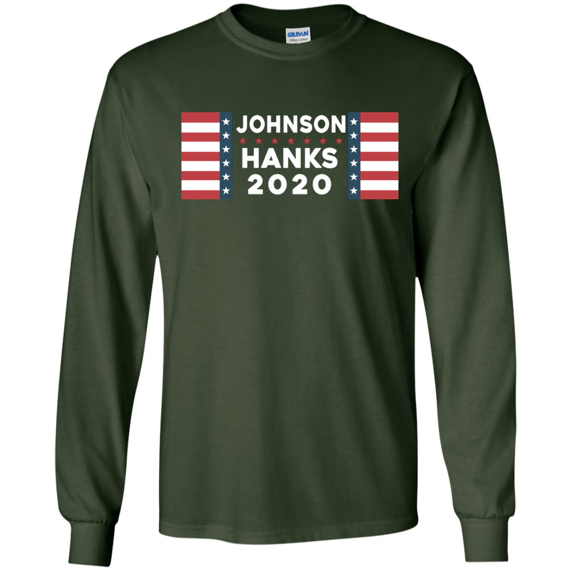 image 654px Johnson Hanks for president 2020 T Shirts, Hoodies, Tank Top