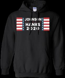 image 656 247x296px Johnson Hanks for president 2020 T Shirts, Hoodies, Tank Top