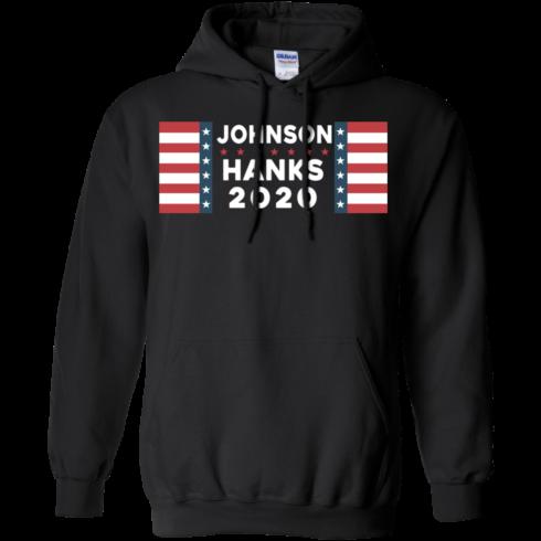 image 656 490x490px Johnson Hanks for president 2020 T Shirts, Hoodies, Tank Top