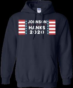 image 657 247x296px Johnson Hanks for president 2020 T Shirts, Hoodies, Tank Top