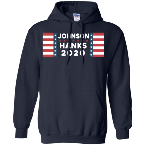 image 657 490x490px Johnson Hanks for president 2020 T Shirts, Hoodies, Tank Top