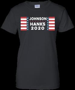 image 659 247x296px Johnson Hanks for president 2020 T Shirts, Hoodies, Tank Top