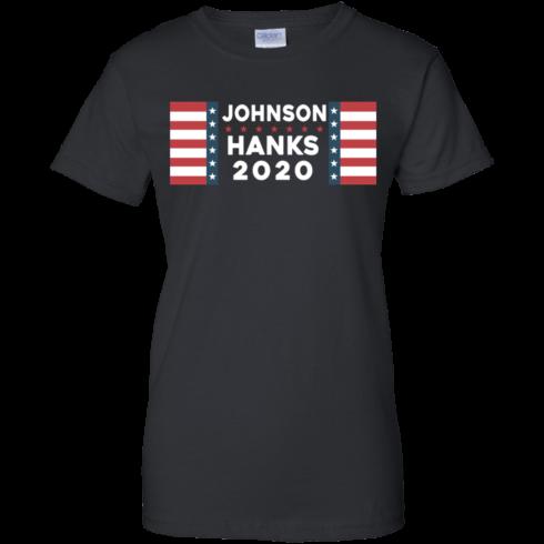 image 659 490x490px Johnson Hanks for president 2020 T Shirts, Hoodies, Tank Top