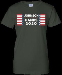 image 660 247x296px Johnson Hanks for president 2020 T Shirts, Hoodies, Tank Top