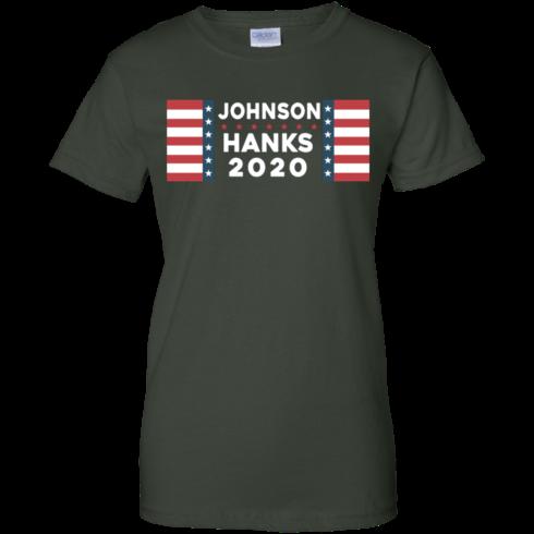 image 660 490x490px Johnson Hanks for president 2020 T Shirts, Hoodies, Tank Top