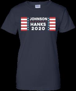 image 661 247x296px Johnson Hanks for president 2020 T Shirts, Hoodies, Tank Top