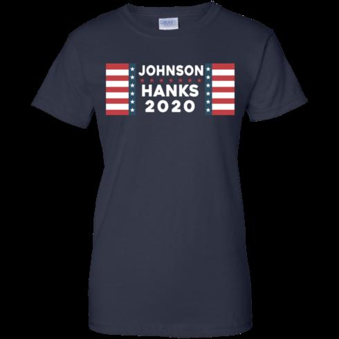 image 661 490x490px Johnson Hanks for president 2020 T Shirts, Hoodies, Tank Top