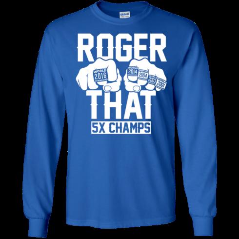 image 691 490x490px Roger That 5x Champs Brady Rrolls Goodell T Shirts