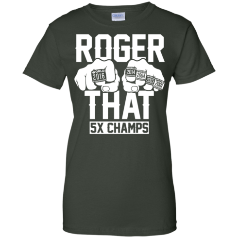 image 696 490x490px Roger That 5x Champs Brady Rrolls Goodell T Shirts