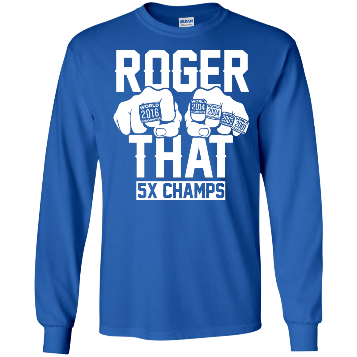 image 842px Roger That 5x Champs – Brady Trolls Goodell T Shirts