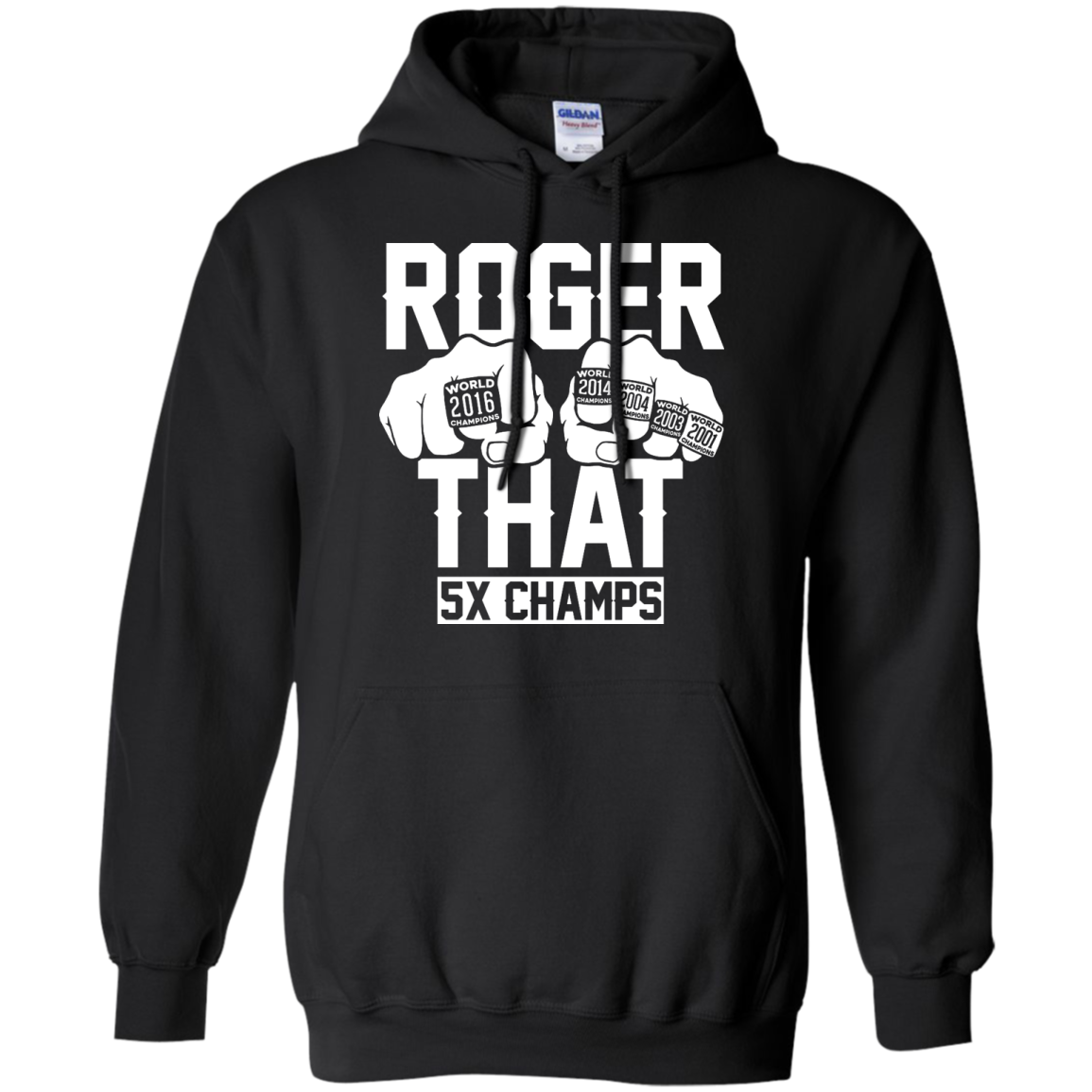 image 844px Roger That 5x Champs – Brady Trolls Goodell T Shirts