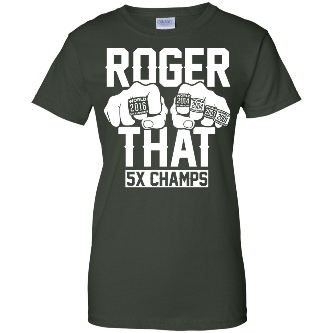 image 848px Roger That 5x Champs – Brady Trolls Goodell T Shirts