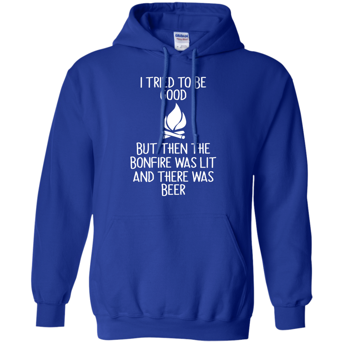 image 869px I Tried To Be Good But Then The Bonfire Was Lit T Shirts, Hoodies