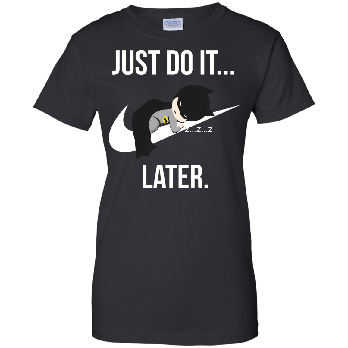 image 988px Just Do It Later – Batman T Shirt, Hoodies, Tank Top