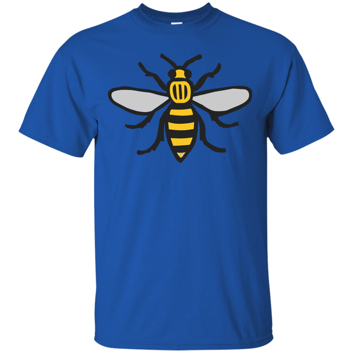 image 10px Manchester Bee, Symbol of Manchester T Shirts