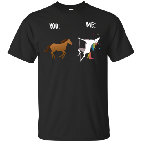 image 1010 490x490px You and Me Unicorn: You are a horse, I'm an Unicorns T Shirts, Tank Top