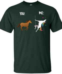 image 1011 247x296px You and Me Unicorn: You are a horse, I'm an Unicorns T Shirts, Tank Top
