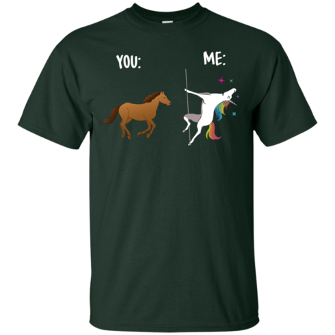 image 1011 490x490px You and Me Unicorn: You are a horse, I'm an Unicorns T Shirts, Tank Top