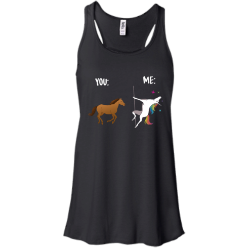 image 1012 490x490px You and Me Unicorn: You are a horse, I'm an Unicorns T Shirts, Tank Top
