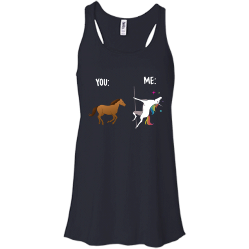 image 1013 490x490px You and Me Unicorn: You are a horse, I'm an Unicorns T Shirts, Tank Top