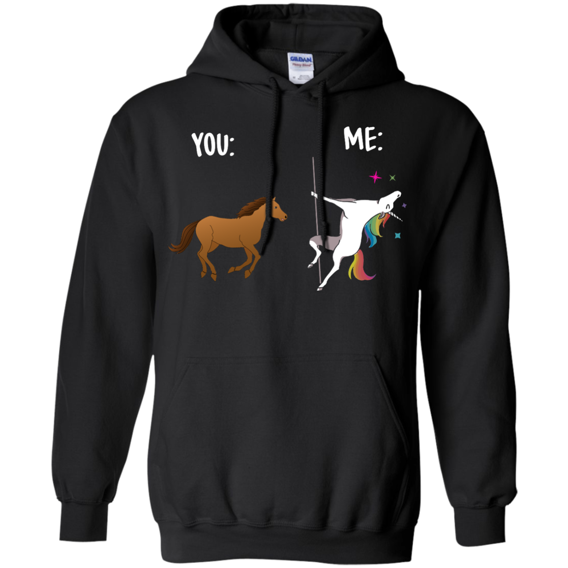 image 1014px You and Me Unicorn: You are a horse, I'm an Unicorns T Shirts, Tank Top