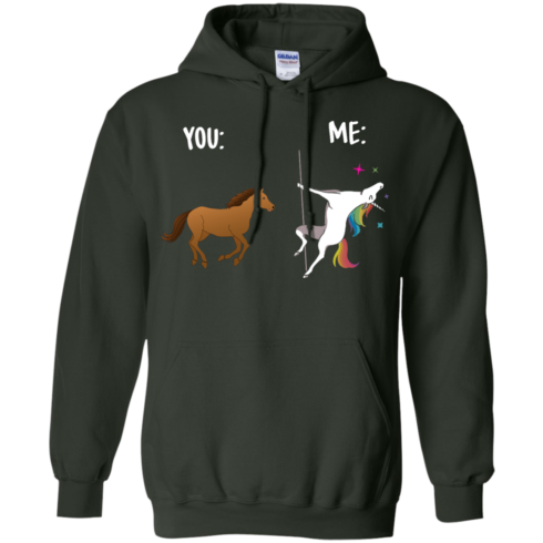 image 1015 490x490px You and Me Unicorn: You are a horse, I'm an Unicorns T Shirts, Tank Top
