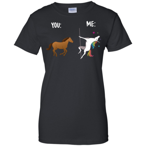 image 1016 490x490px You and Me Unicorn: You are a horse, I'm an Unicorns T Shirts, Tank Top