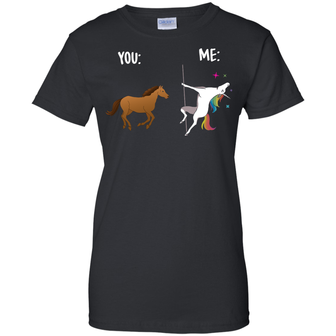 image 1016px You and Me Unicorn: You are a horse, I'm an Unicorns T Shirts, Tank Top