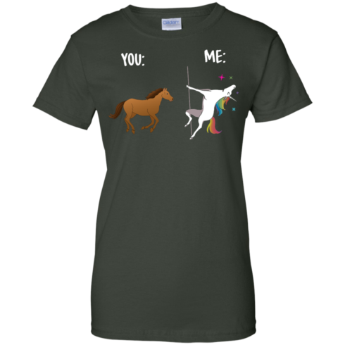 image 1017 490x490px You and Me Unicorn: You are a horse, I'm an Unicorns T Shirts, Tank Top