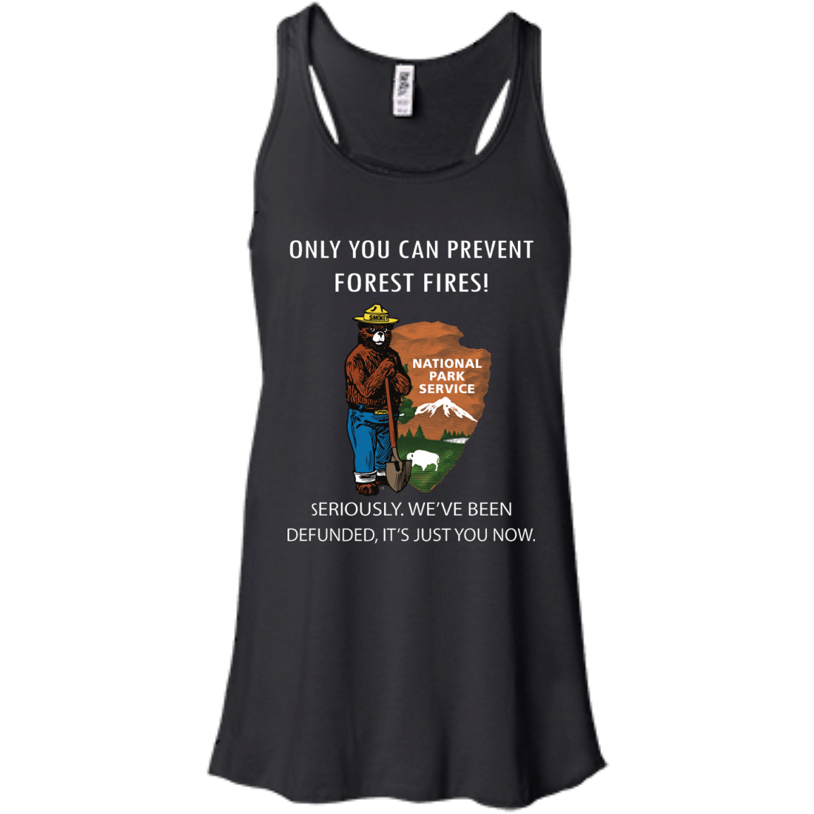 image 1036px Smokey Bear: Only You Can Prevent Forest Fires T Shirts, Hoodies