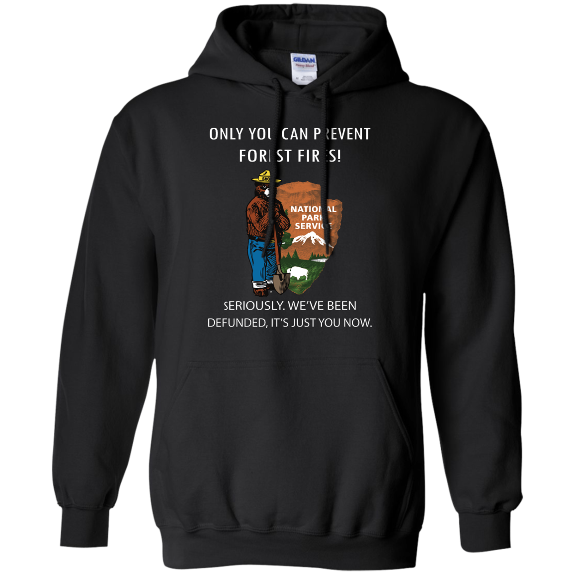 image 1038px Smokey Bear: Only You Can Prevent Forest Fires T Shirts, Hoodies