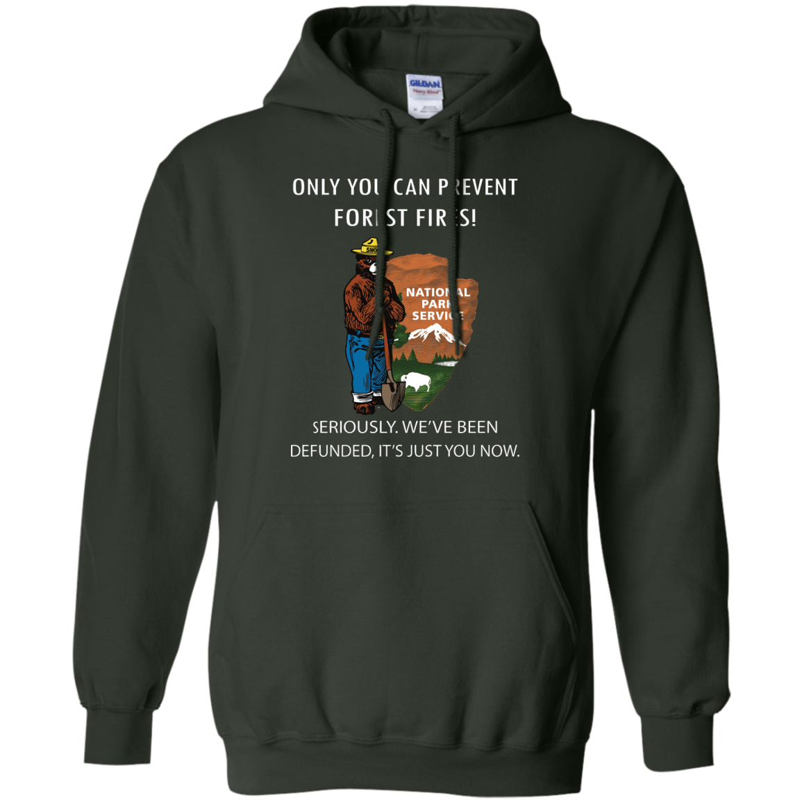image 1039px Smokey Bear: Only You Can Prevent Forest Fires T Shirts, Hoodies