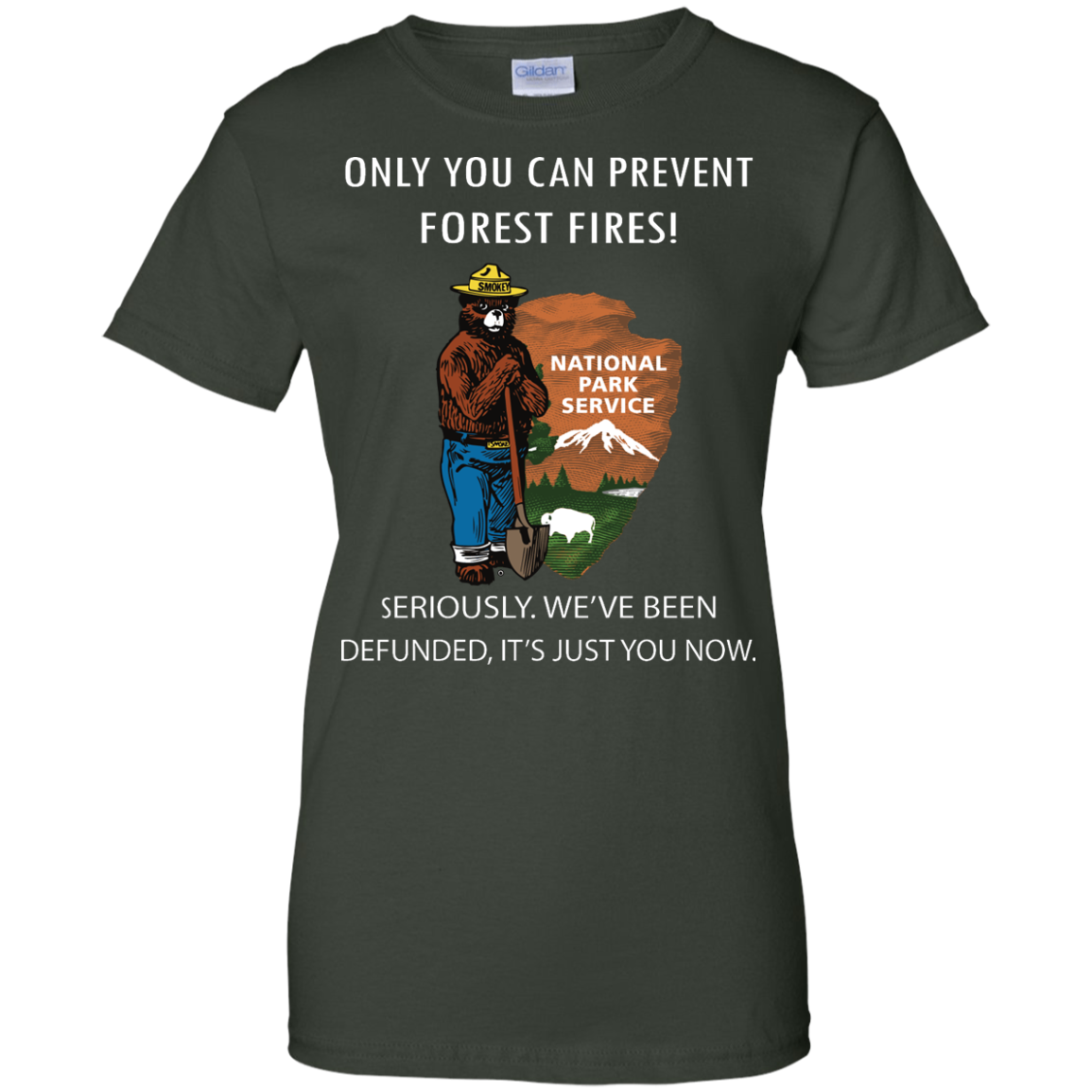 image 1041px Smokey Bear: Only You Can Prevent Forest Fires T Shirts, Hoodies