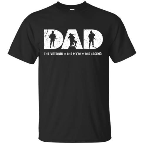 image 1060 490x490px Dad The Veteran The Myth The Legend T Shirts, Hoodies, Sweaters