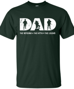 image 1061 247x296px Dad The Veteran The Myth The Legend T Shirts, Hoodies, Sweaters