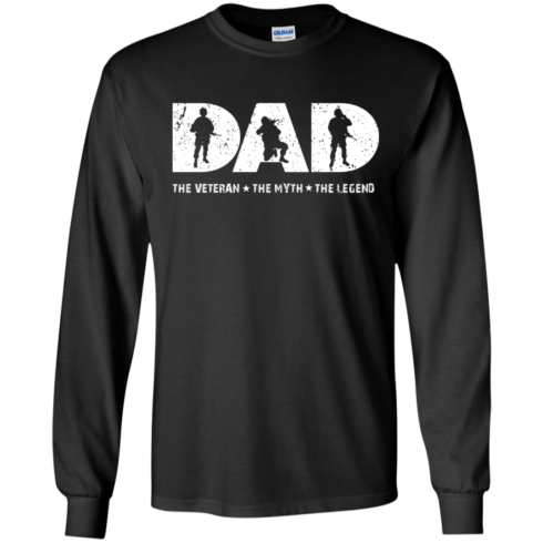 image 1062 490x490px Dad The Veteran The Myth The Legend T Shirts, Hoodies, Sweaters