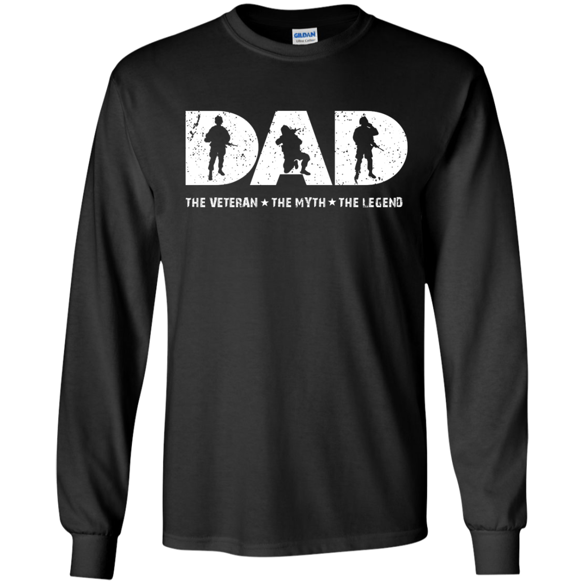 image 1062px Dad The Veteran The Myth The Legend T Shirts, Hoodies, Sweaters