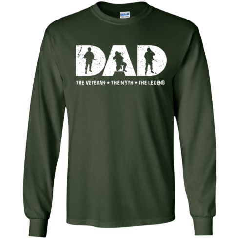 image 1063 490x490px Dad The Veteran The Myth The Legend T Shirts, Hoodies, Sweaters
