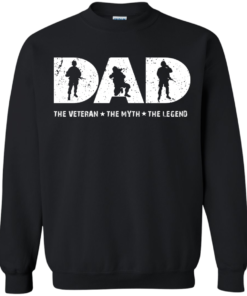 image 1066 247x296px Dad The Veteran The Myth The Legend T Shirts, Hoodies, Sweaters