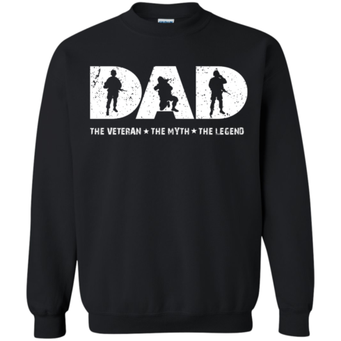 image 1066 490x490px Dad The Veteran The Myth The Legend T Shirts, Hoodies, Sweaters