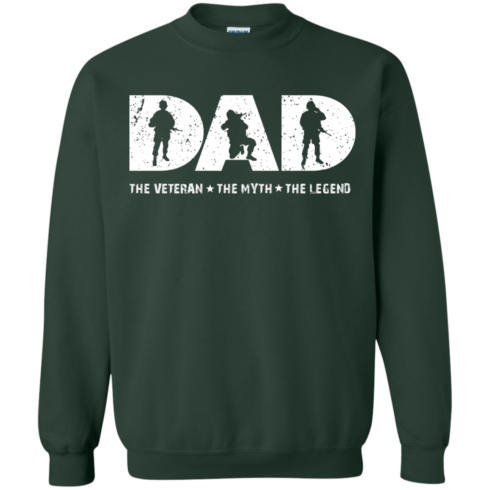 image 1067 490x490px Dad The Veteran The Myth The Legend T Shirts, Hoodies, Sweaters