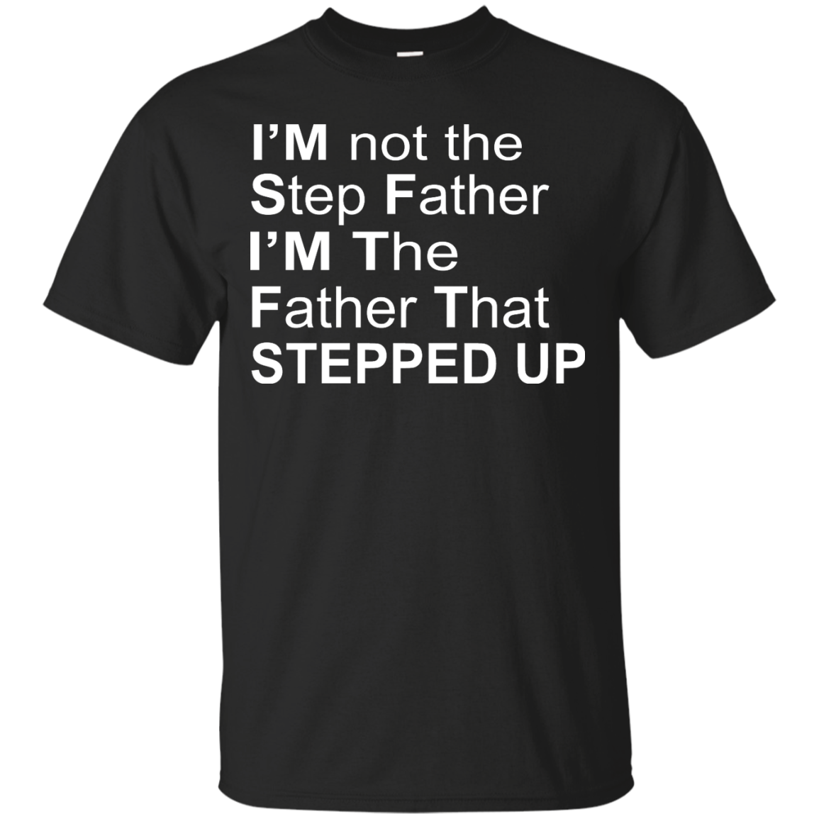 image 1068px I'm Not The Step Father I'm The Father That Stepped Up T Shirts, Hoodies, Sweater